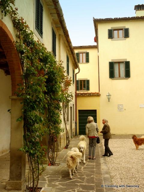 A warm welcome to Villa La Collina in the hills of Tredozio, Italy