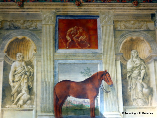 Hall of the Horses at Palazzo Te in Mantua, Italy