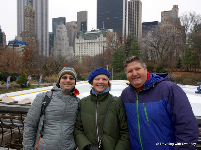 A walk through Central Park with blogger friends, Aaron Heflich Shapiro and Jeff Dobbins, New York City 2016