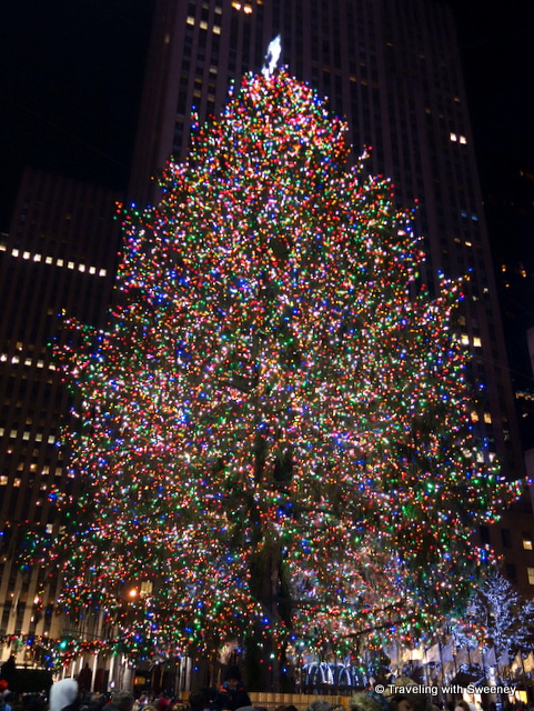 Rockefeller Center Christmas Tree -- New York City at Christmas