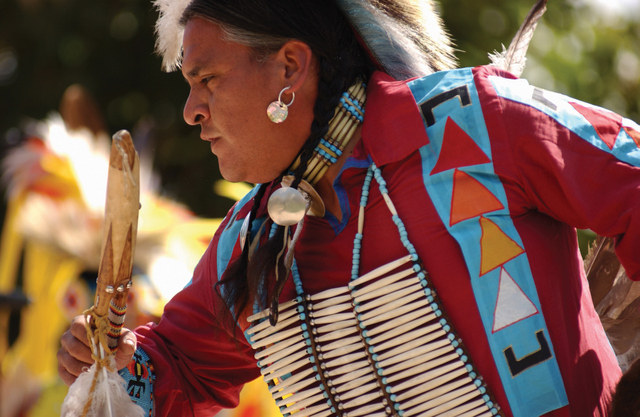 Eldred Matt of the San Carlos Apache Nation performing at Native Trails Festival in Scottsdale -- Photo courtesy of Scottsdale Convention & Visitors Bureau