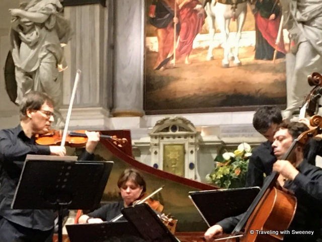 Interpreti Veneziani concert at Chiesa San Vidal in Venice