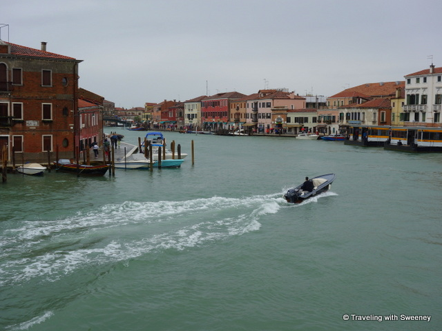 Murano Island in the Venetian Lagoon, Italy