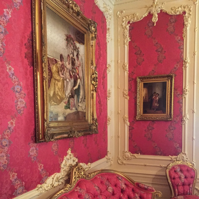 The Ladies Parlor at Pabst Mansion
